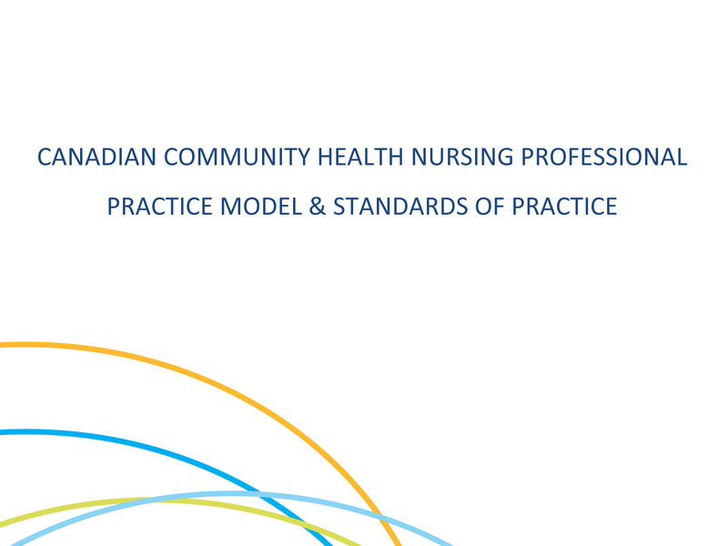 2019 Canadian Community Health Nursing Professional Practice Model & Standards of Practice